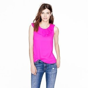 J. Crew Sleeveless Gabby Top in Pink Size: 0
